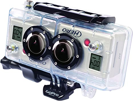 GoPro 3D Hero System - Accesorio para cámaras HERO2 (Carcasa 3D ...