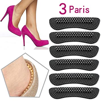High Heel Pads Grips Liners Inserts Anti Slip Shoe Cushion For Women WT