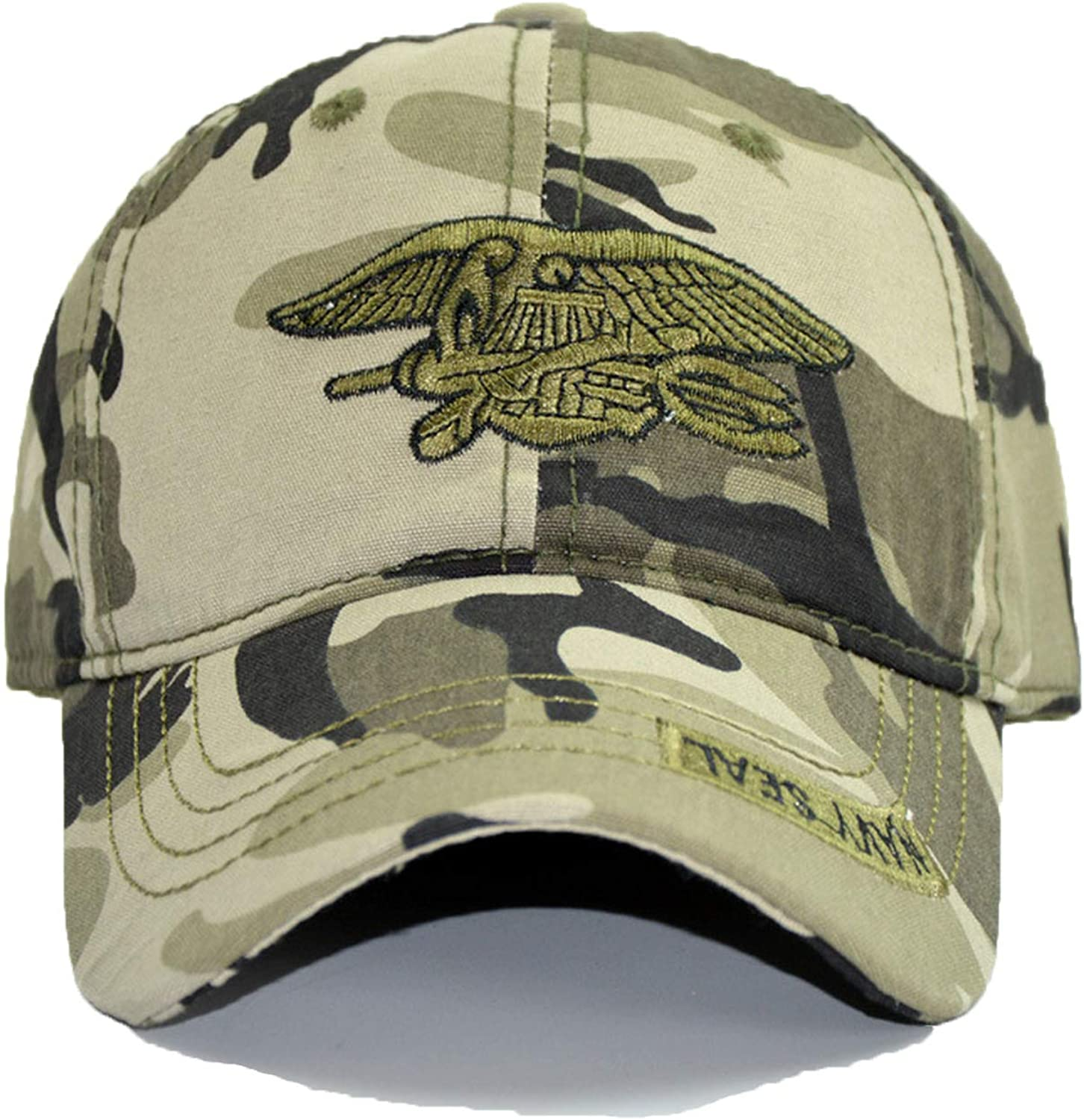 CHENTAI Male Spring Youth Camouflage Summer Outdoor Baseball Hat Embroidery Tactical Cap