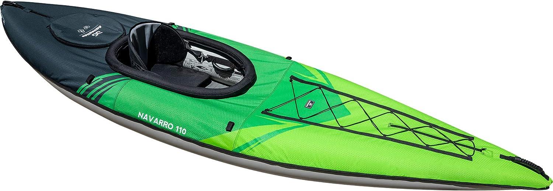 AQUAGLIDE Navarro 110 Inflatable Kayak with Drop Stitch Floor