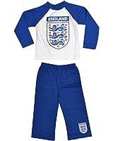 England FA Official Childrens/Kids Football Crest Pyjama Set