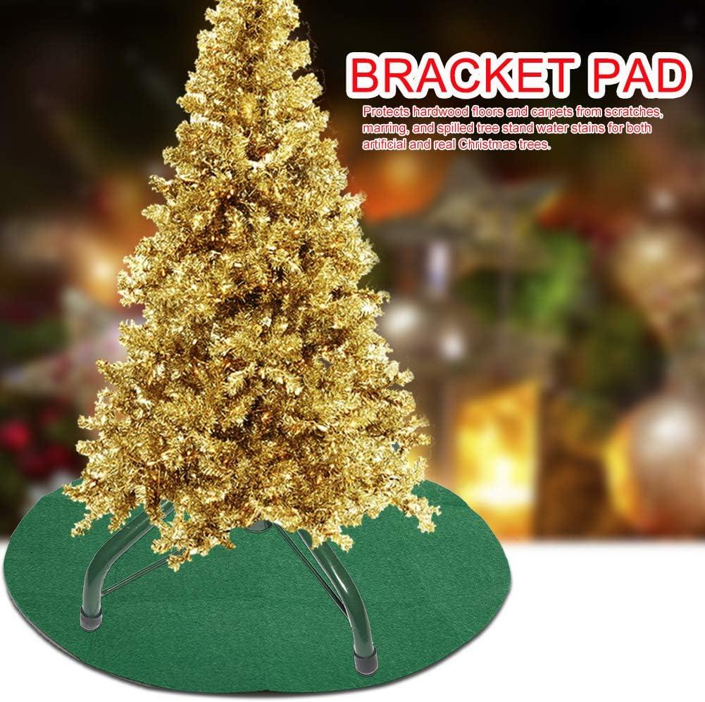 MeiBoAll 37 Christbaumst/änder Matte Saugf/ähig Wasserdicht Weihnachtsbaum Pad Gro/ß Weihnachtsbaum St/änder Bodenmatte Home rutschfeste Matte f/ür Bodenschutz