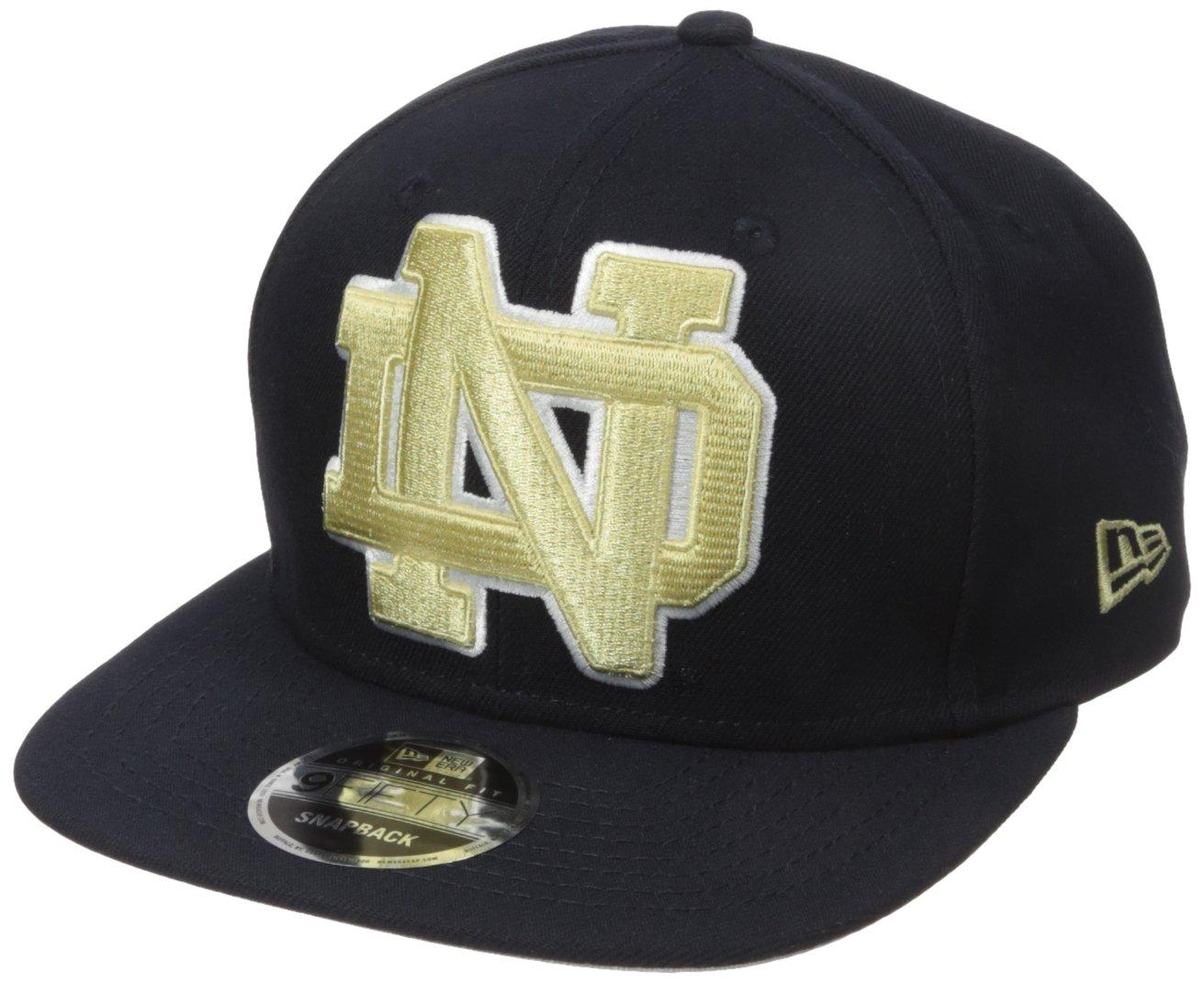 c0aa45d7a45 Amazon.com   NCAA Notre Dame Fighting Irish Logo Grand Snap 9Fifty Original  Fit Cap