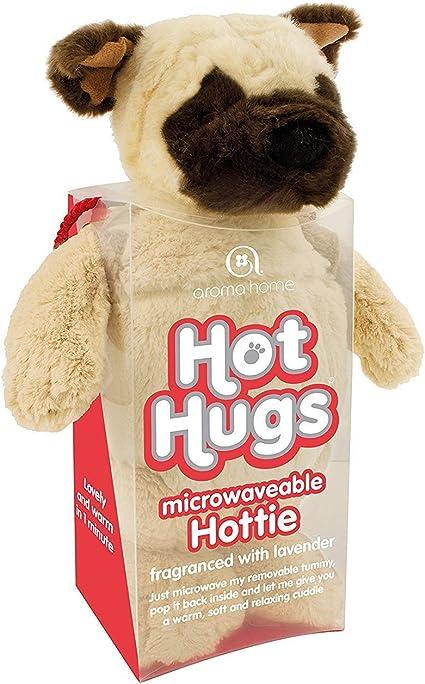 Pug Hot Hugs Lavender Fragranced Microwaveable Hottie