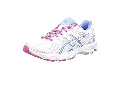 ASICS Gt-1000 3 Gs, Running Entrainement Mixte enfant - Blanc (White/Powder Blue/Hot Pink 139), 33.5 EU