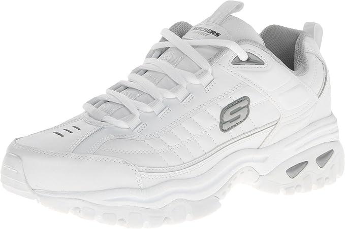 Skechers Sport Energy After Burn Grande Piel Zapatos para