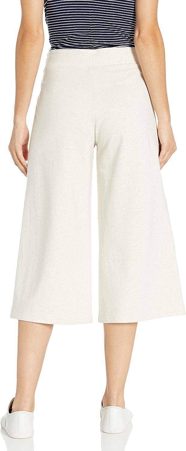 Marchio Pantaloni In Spugna Di Cotone E Modal Culotte pants Donna Daily Ritual