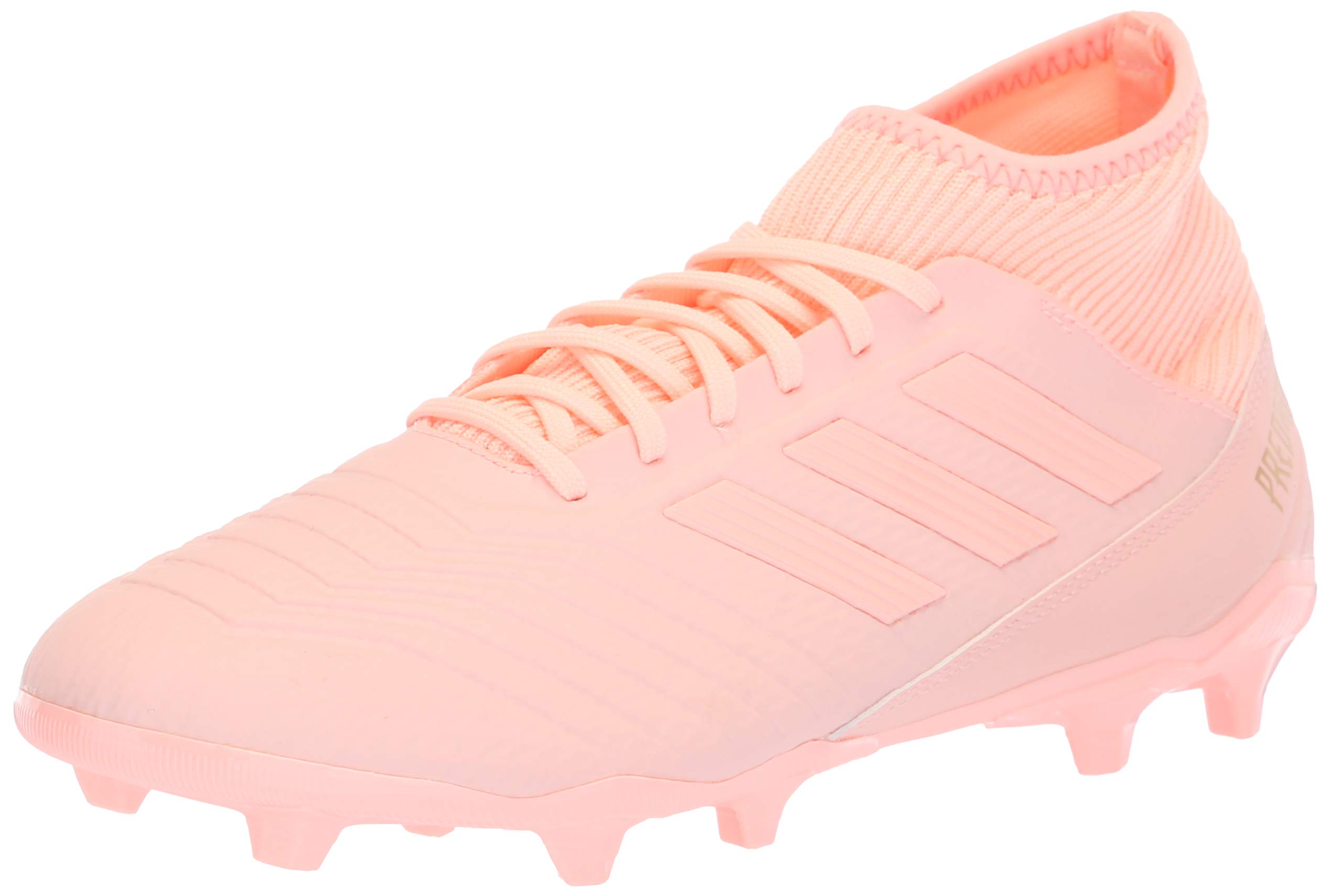adidas Men's Predator 18.3 Firm Ground Soccer Shoe, Clear Orange/Trace Pink, 8 M US