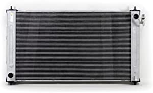 Radiator - Cooling Direct For/Fit 13542 07-11 Nissan Altima Hybrid 2.5L L4 All-Aluminum 2-Row Radiator and Condenser Combo