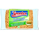 Spontex Universal Haushaltsschwamm, 1er Pack - Saugstark & reißfest - (3x1 Stk.)