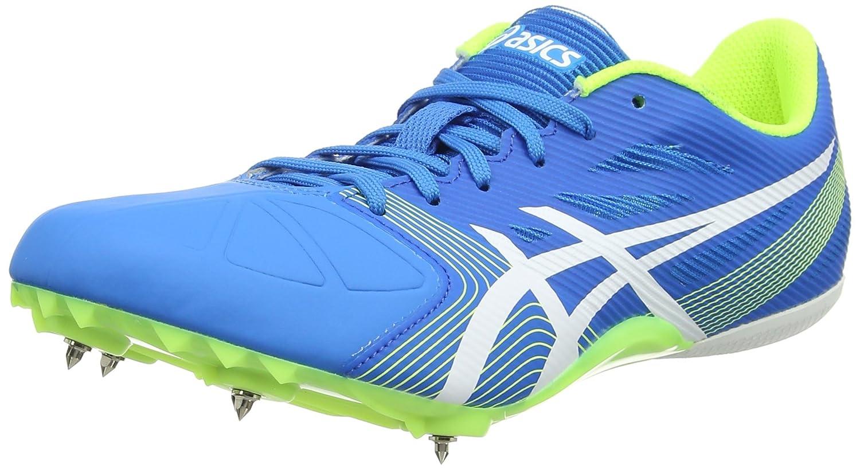 Asics Hypersprint 6, Zapatillas de Atletismo Unisex Adulto 43.5 EU|Azul (Diva Blue/White/Aqua Splash)
