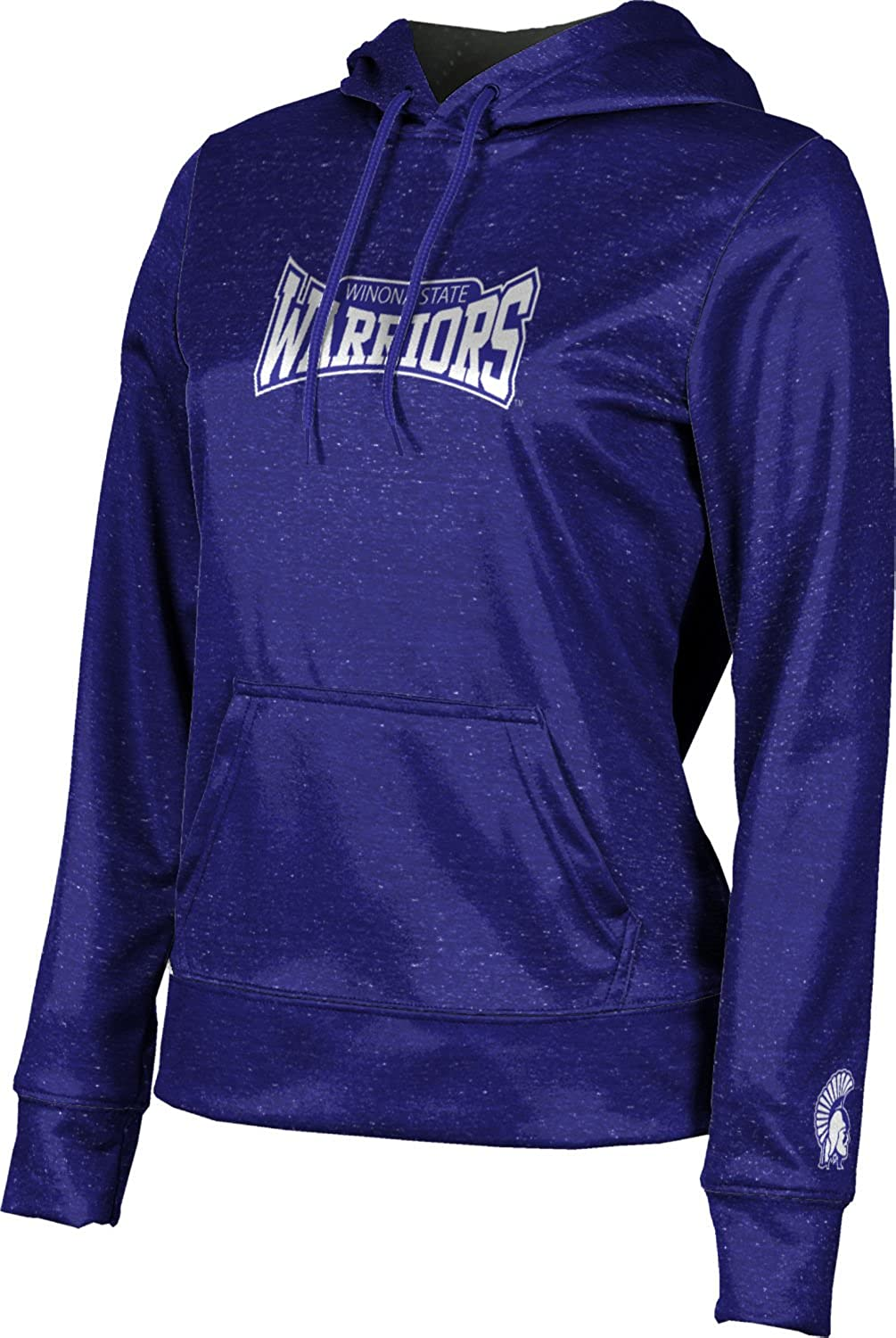 ProSphere Winona State University Girls Pullover Hoodie School Spirit Sweatshirt Distressed