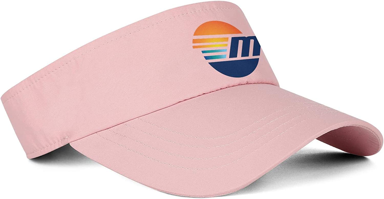 Baseball Caps Top Level Style Malibu-Boats-Vector-Logo-Simple-red