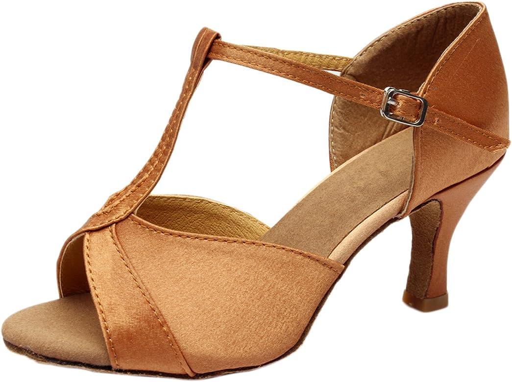 lat/ín Zapatos de Baile De Las Mujeres Zapatos de Baile Moda Tacones Altos Sandalias Zapatos de Boda