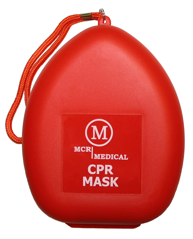 Amazon.com: MCR Medical pack de 5 RCP Máscara de rescate ...