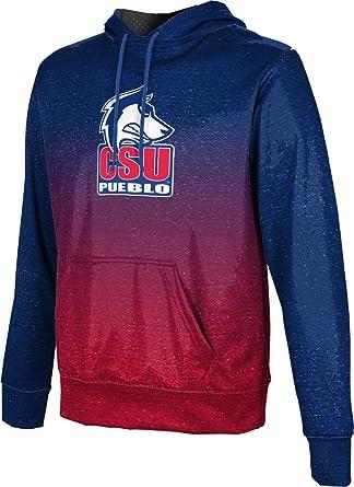 School Spirit Sweatshirt ProSphere Colorado State University Pueblo Womens Pullover Hoodie Ombre