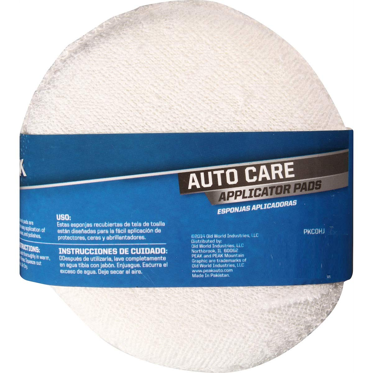 Amazon.com: PEAK Microfiber Auto Care Applicator Pads, 2 Pack: Automotive