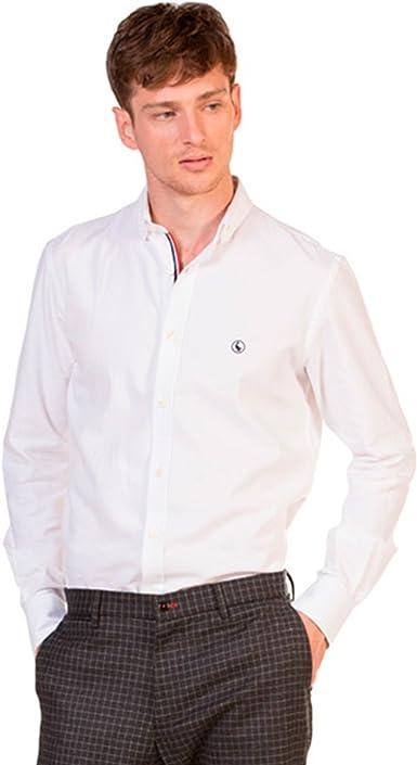 Camisa El Ganso Oxford Cambridge Blanco 42 Blanco: Amazon.es: Ropa y accesorios