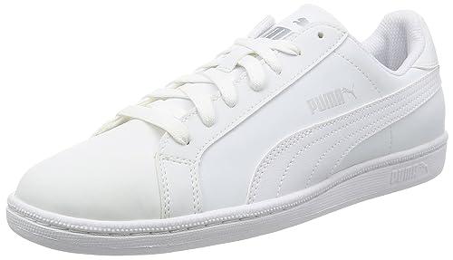 Puma Smash Buck Scarpe da Ginnastica Basse Unisex Adulto Bianco White