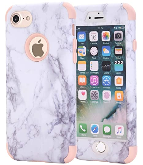 apple iphone 7 plus case marble