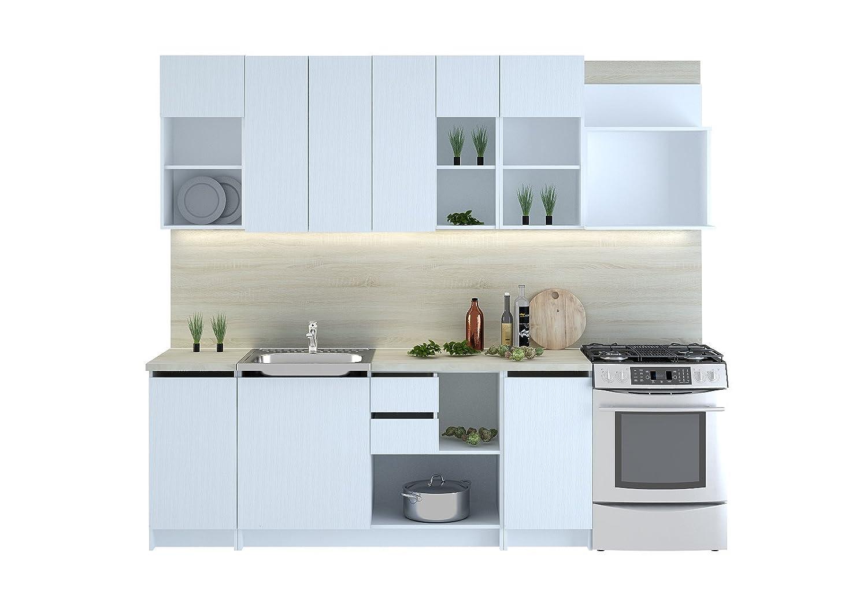 CUBA - Bloque de muebles de cocina, 260 cm
