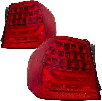 09-11 Rear Left Driver Side Outer Fender Tail Light OEM BMW E90 328i 335i M3