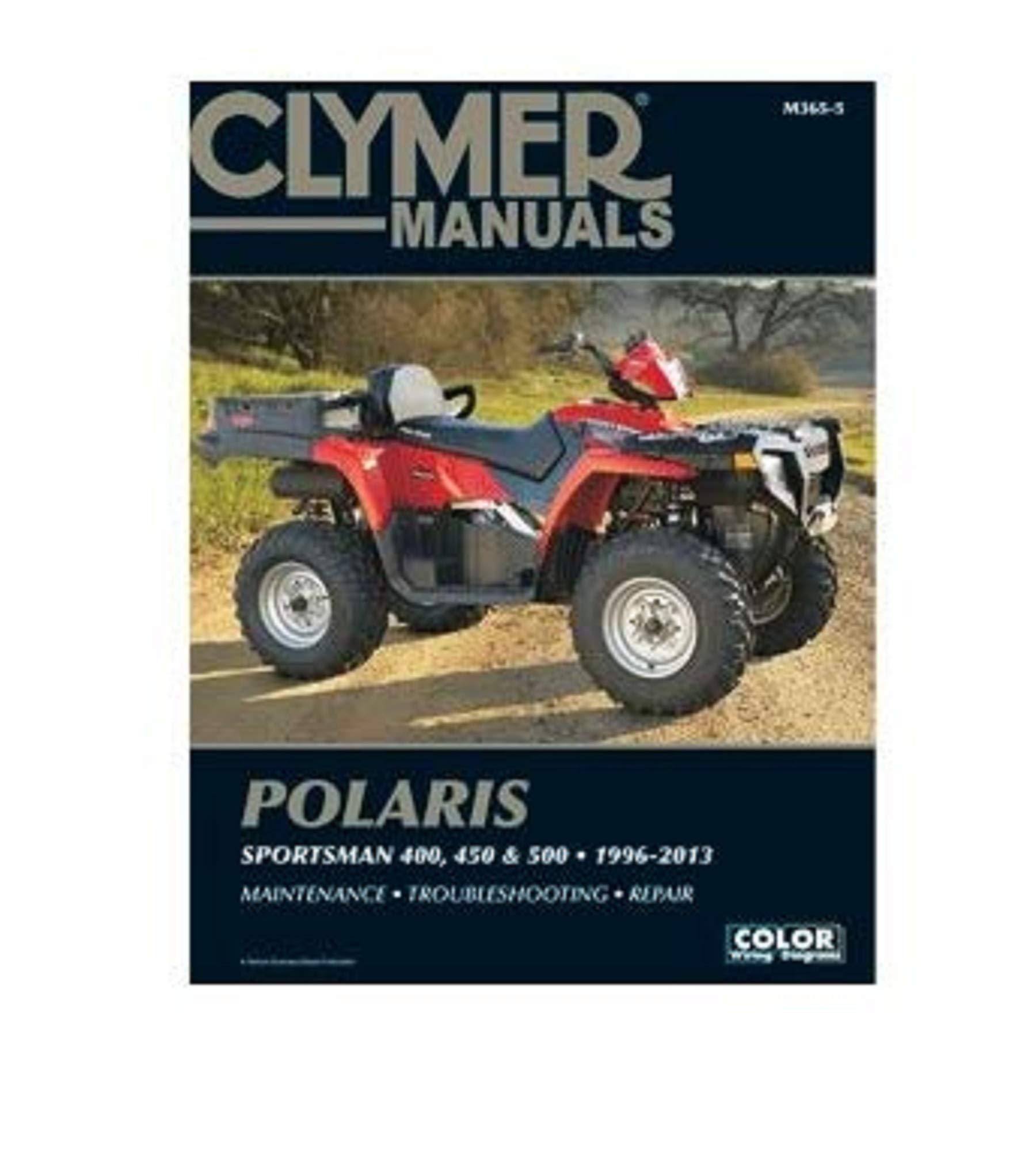 Polaris Sportsman 400 450 /& 500 1996-2013 Manual