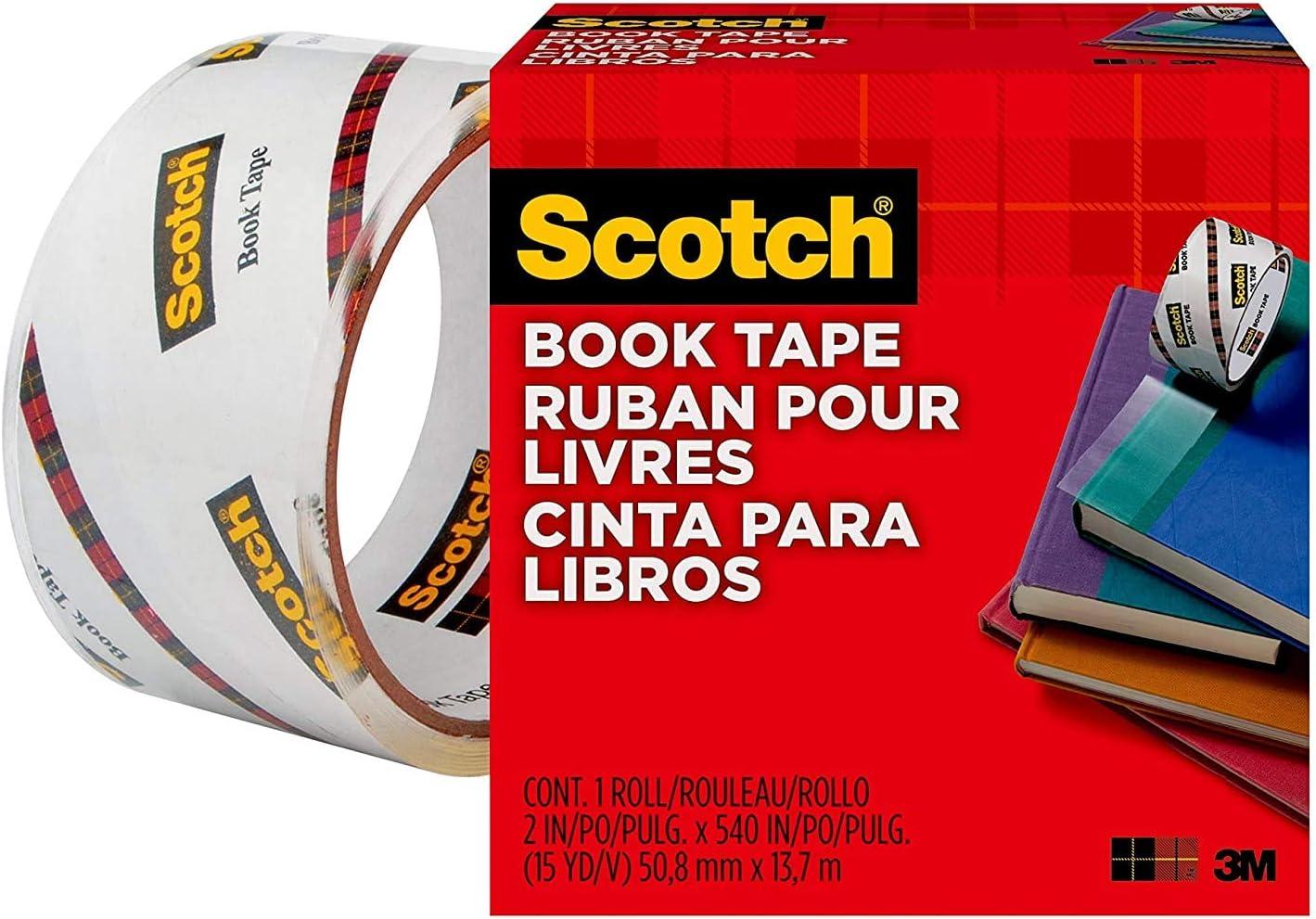 Book Lock Heavy Duty Book Tape 4W x 20 yds.L