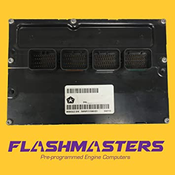 Flashmasters 2002 Compatible for Fits Dodge Ram Truck 5.9L at 56028410 ECU ECM PCM Programmed to Your VIN