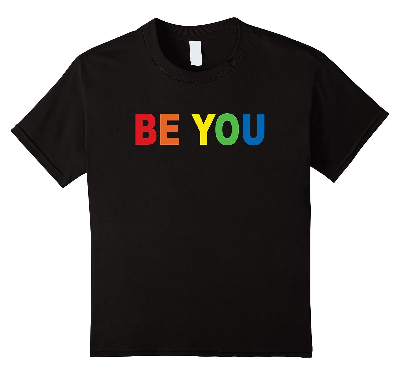 Pride Rainbow T Shirt Large Asphalt-Tovacu