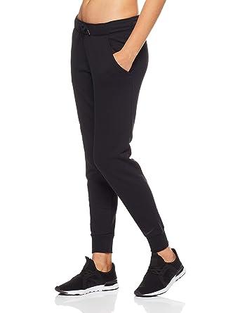c6a6164cff Nike W NK Dry Pant Endrnce Tapered Pantalon De Sport Femme, Noir Black 010,