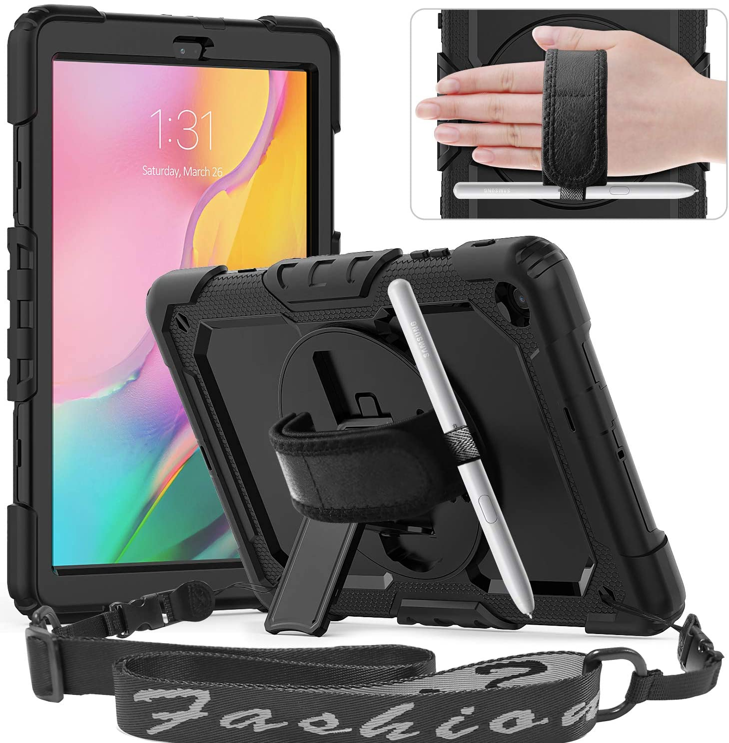 Funda Timecity para Galaxy Tab A 10.1 2019 SM-T510...-6M2H