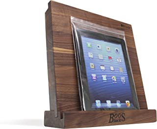product image for John Boos Block i-Block Walnut Wood Cutting Board and Tablet Stand