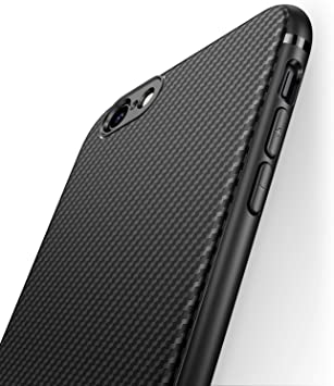 J Jecent Funda iPhone 6 Funda iPhone 6s [Textura Fibra de Carbono ...
