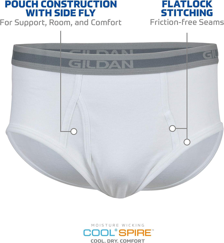 Gildan Men's Brief Underwear Multipack at  Men's Clothing store
