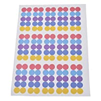 YNuth Etiquettes Huile Essentielle Stickers Ronds Multicolores Essential Oils Bottle Cap Stickers