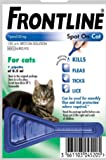 Leeway FRONTLINE SPOT ON FOR CATS -FLEA, TICK & MITE KILLS & PREVENTS 1,3, OR 6 (1 PIPETTE PACK)