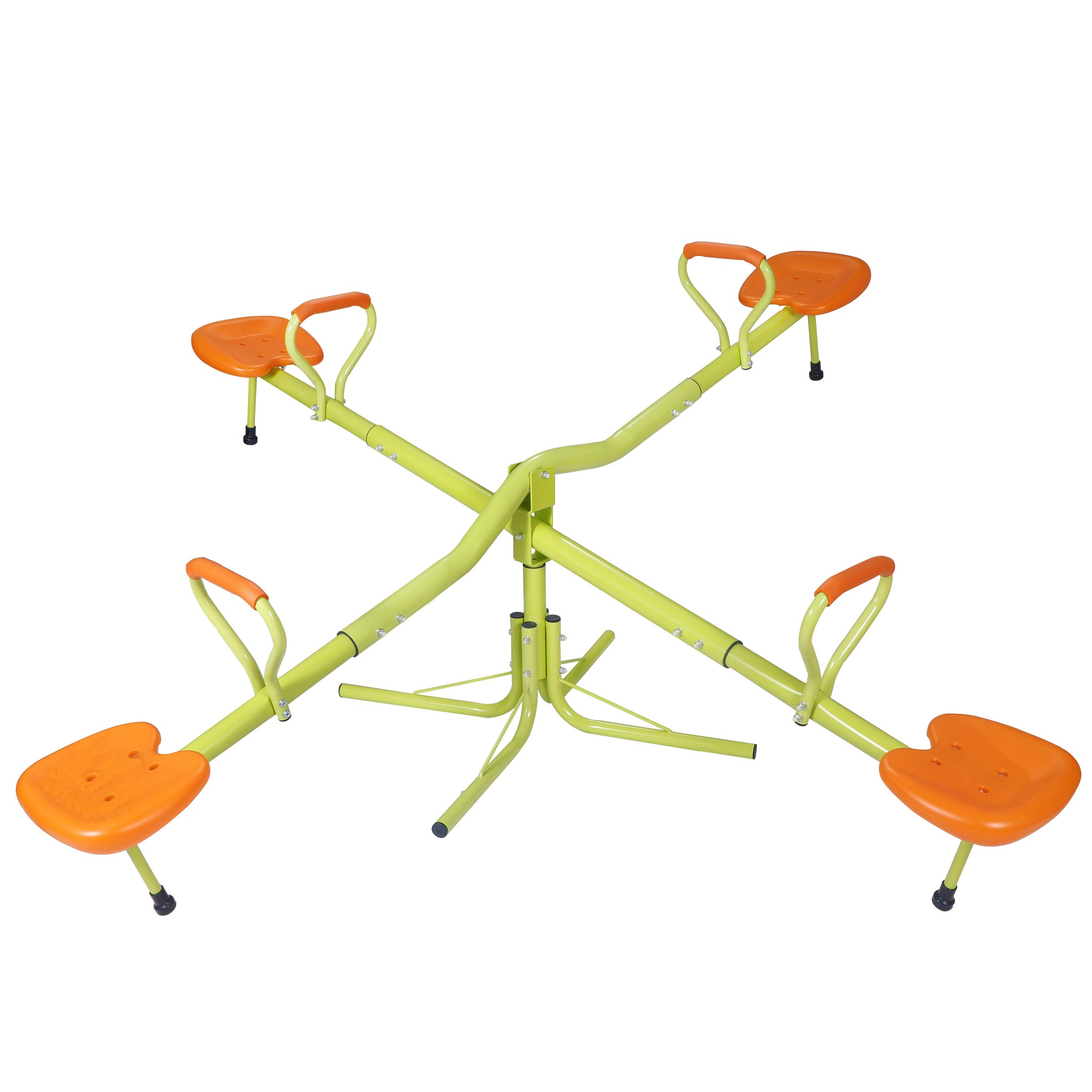 JupiterForce Kids Seesaw Playground Equipment Teeter Totter with 360 Degree Swivel by JupiterForce