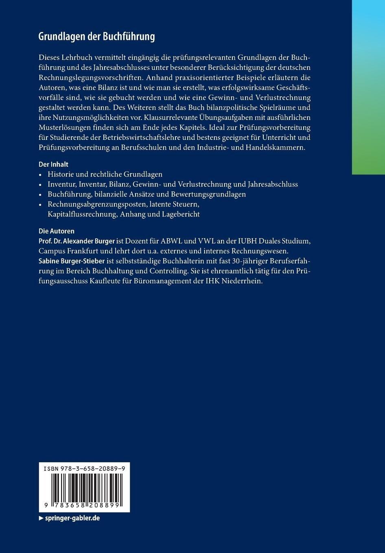 Grundlagen Der Buchführung Eine Praxisorientierte Einführung Mit