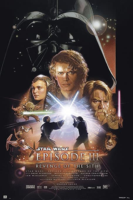 "Póster Star Wars Episode III "" Revenge of the Sith/ La Venganza ..."