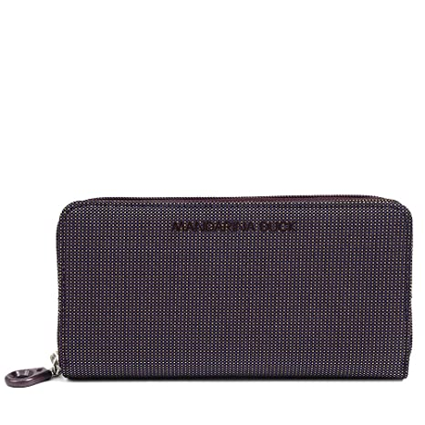Mandarina Duck MD20 long wallet with zip: Amazon.es: Equipaje