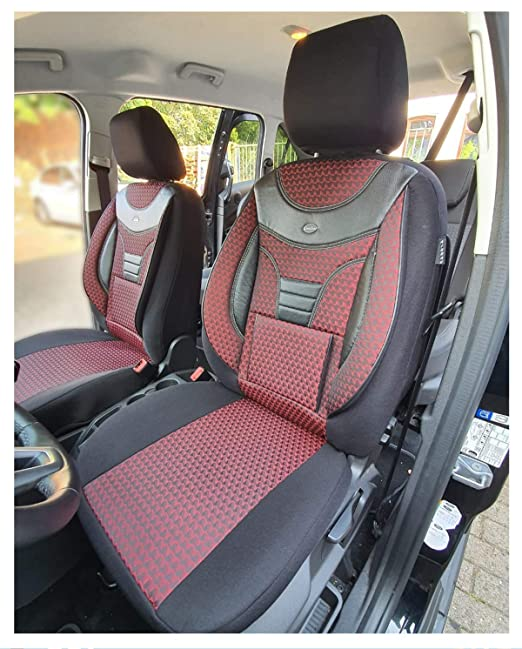 Maß Sitzbezüge Kompatibel Mit Fiat Ducato Typ 250 Fahrer Beifahrer Ab 2006 Farbnummer 901 Baby