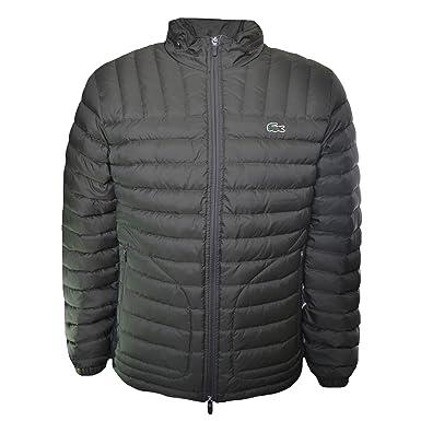 9033cad99 Lacoste Men s Green Padded Jacket 58 XXXL  Amazon.co.uk  Clothing