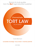 Tort Law Concentrate: Law Revision and Study Guide (English Edition)