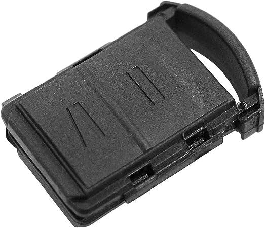 Schlüsselgehäuse Fernbedienung Schwarz 2 Tasten Opel Elektronik