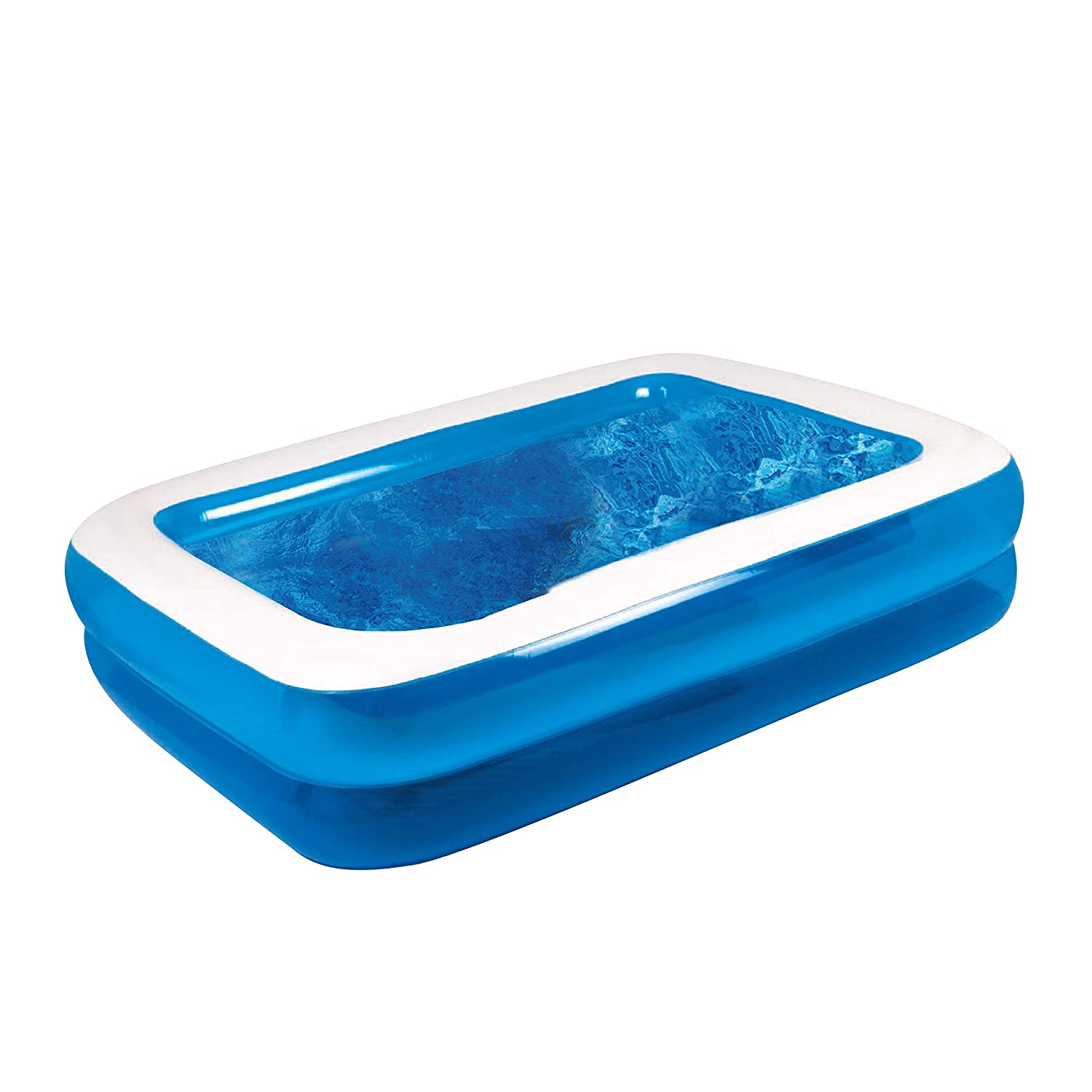 Amazon.com: GardenKraft – Piscina hinchable rectangular (3 m ...