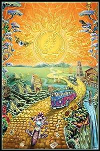 Grateful Dead - Golden Road Poster 24 x 36in