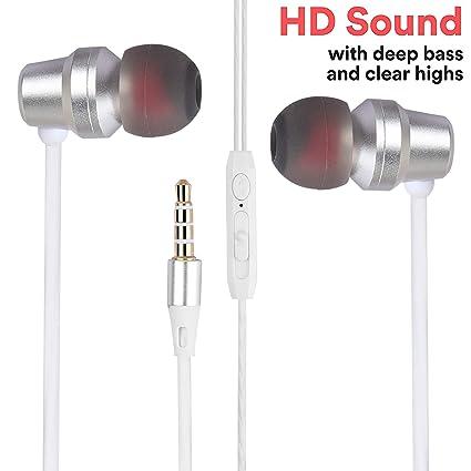 753143327ff Stealkart Earphones Headphones, High Definition, in-Ear, Tangle Free, Noise  Isolating