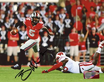 fc2151675 Braxton Miller Ohio State Buckeyes Autographed Signed 8x10 Photo -  Certified Authentic