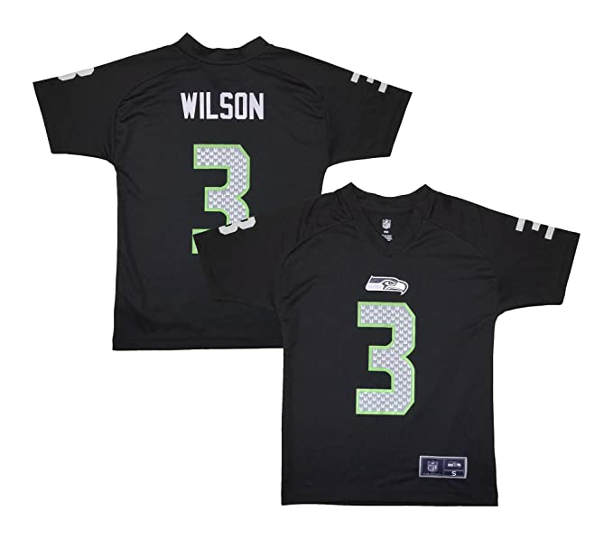 info for 71725 fb20e Amazon.com: Russell Wilson Seattle Seahawks Black ...